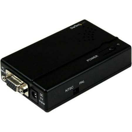 StarTech.com VGA2VID High Resolution VGA to Composite or S-Video Converter