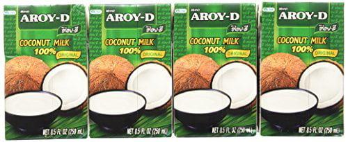 Aroy-d Coconut Milk 100% Original Net 8.5 Oz.(pack of 12) by