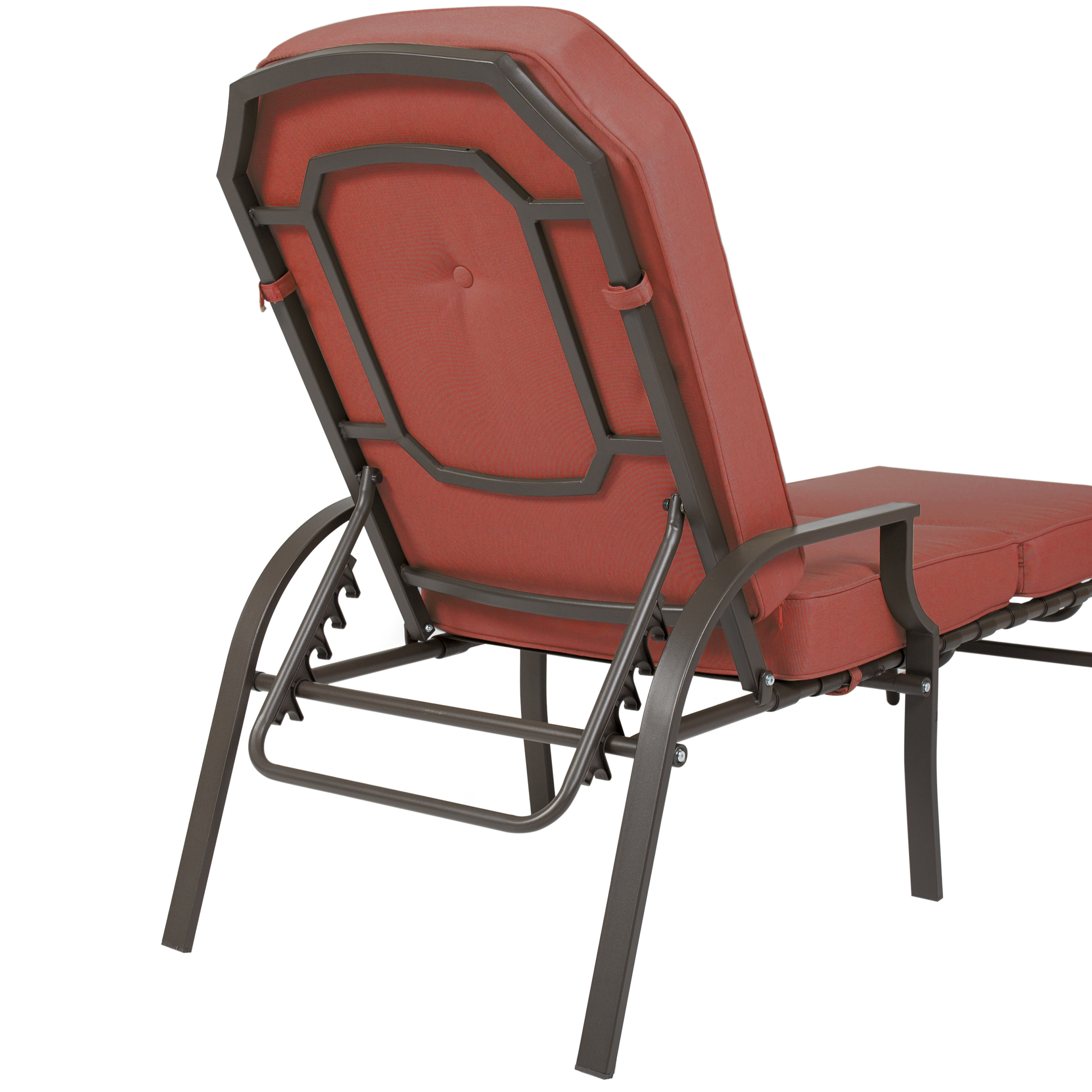 Best Choice Products Outdoor Chaise Lounge Chair W/ Cushion Pool Patio  Furniture   Walmart.com