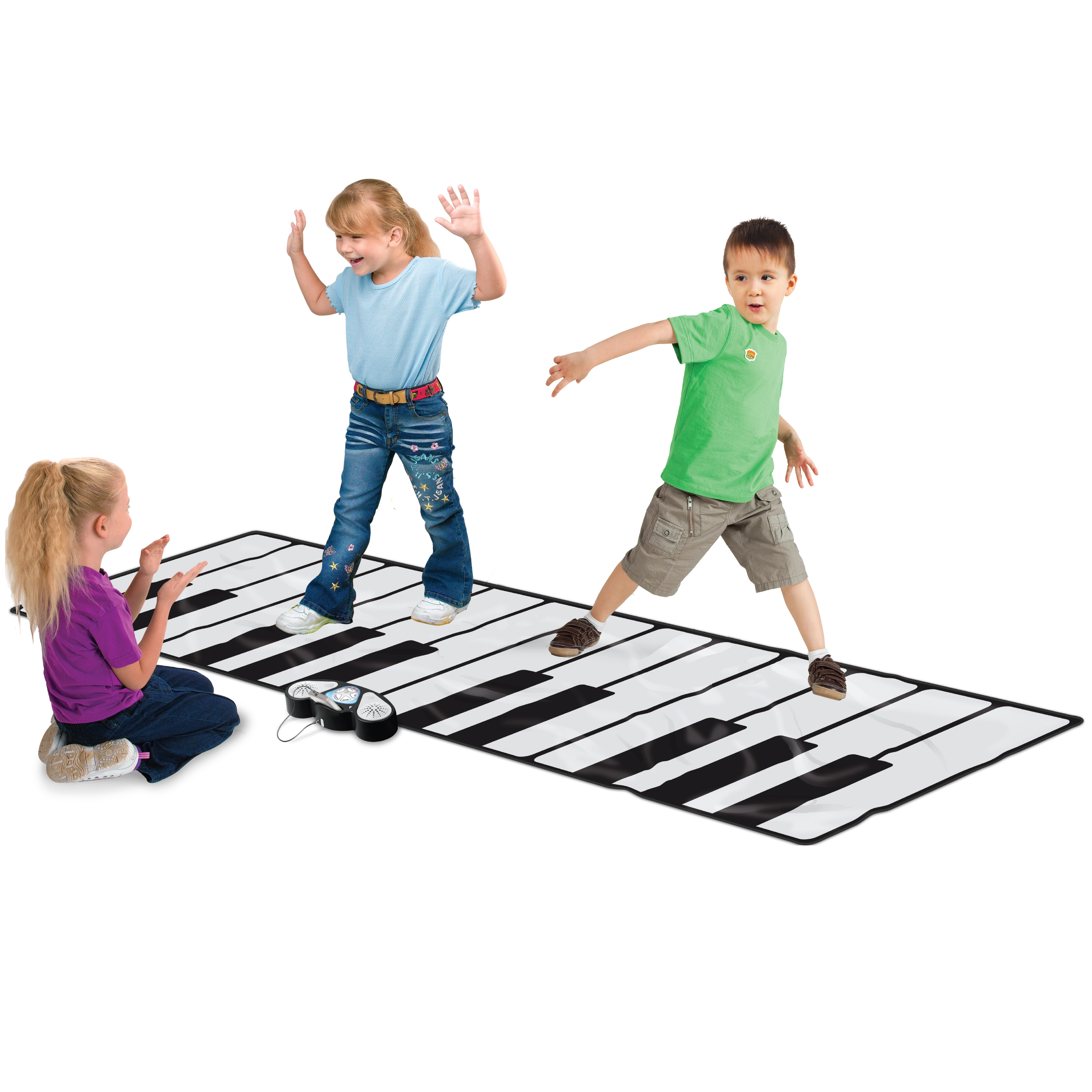 "100"" Super Gigantic Musical Electronic Keyboard Piano Play Mat With Builtin Amplifier... by"