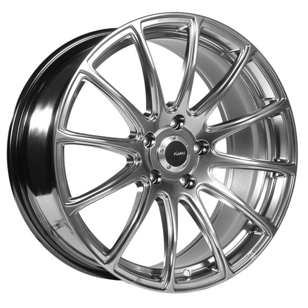 "20"" Inch Advanti Racing 85H Svelto 20x10 5x120 +42mm Titanium Wheel Rim"