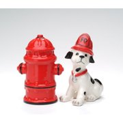 Cosmos Gifts Fire Fighter Salt and Pepper Set