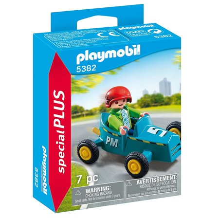 Boy with Go Kart (Special Plus) - Imaginative Play Set by Playmobil (5382)](Go Plus)