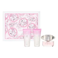 Versace Bright Crystal Perfume Gift Set For Women, 3 Pieces