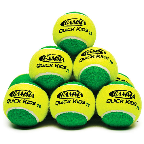 Gamma Quick Kids 78 Tennis Ball 12 ct Bag