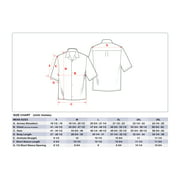 d92d2ce7 Made in Hawaii Men's Hawaiian Shirt Aloha Shirt Palm Leaves in Navy Image 3  ...