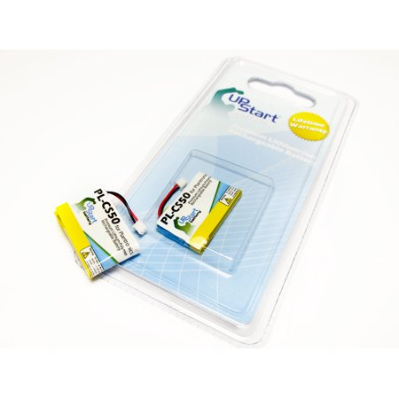 2x Pack - Plantronics 6432701 Battery - Replacement for Plantronics CS50 Headset Battery (250mAh, 3.7V, Lithium Polymer) - image 3 de 3