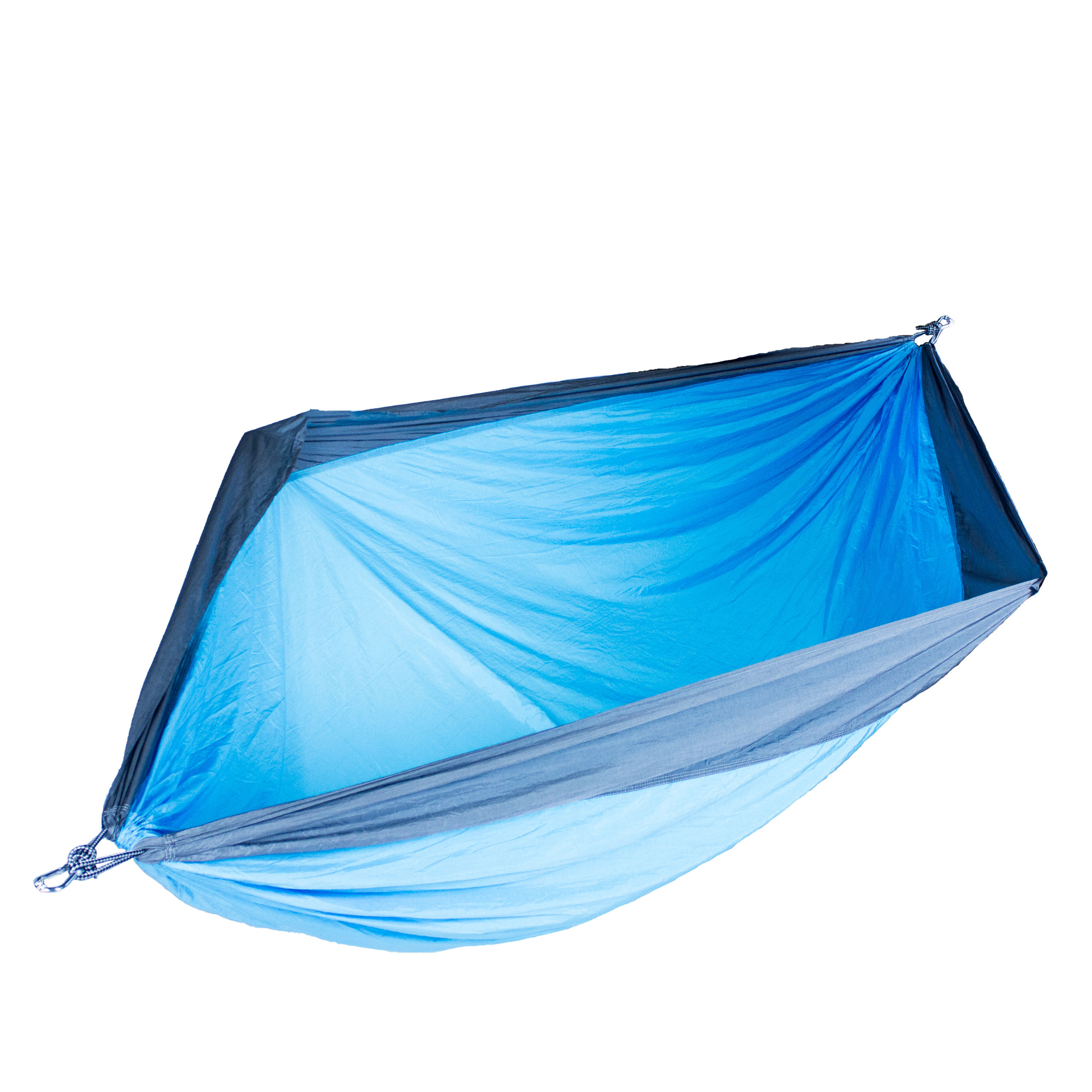 Blue and Grey Double Person Travel Camping Hammock