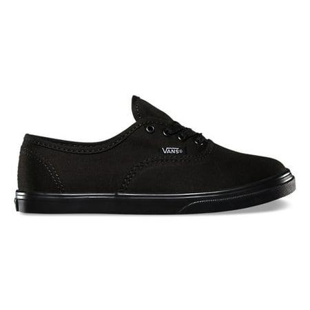 Vans Authentic Lo Pro Black Skate Shoes Size 11 Kids - Girls Cheetah Vans