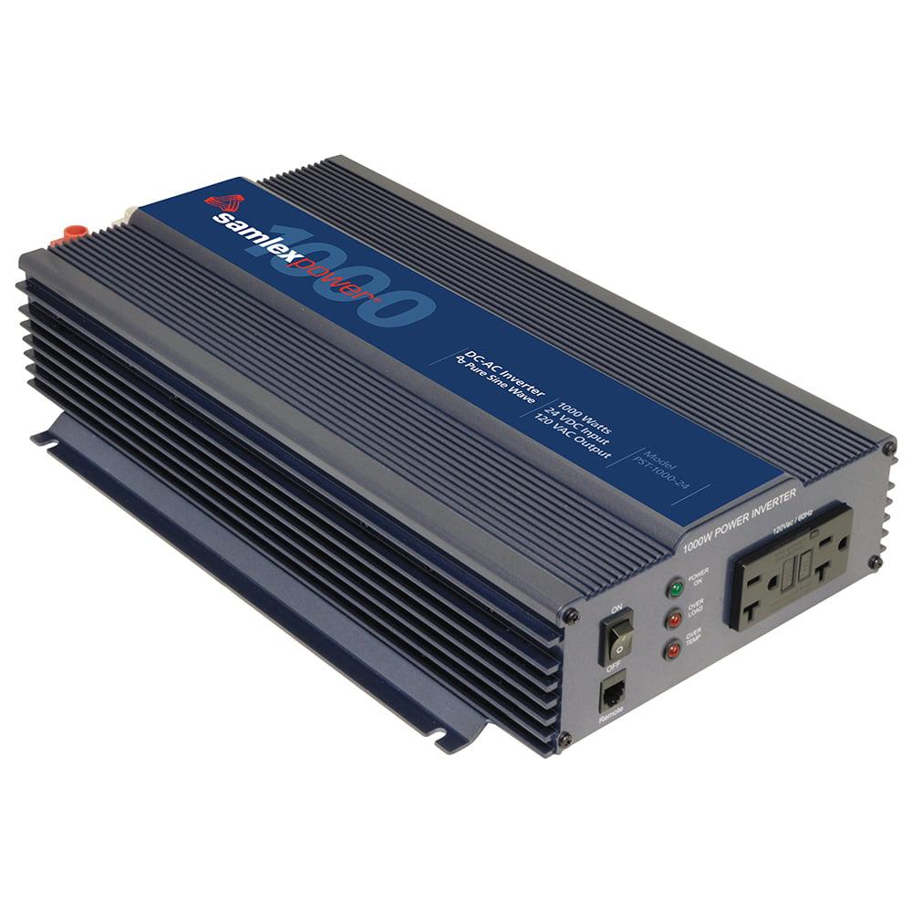 SAMLEX PST-1000-24 PURE SINE WAVE INVERTER 24V INPUT 120