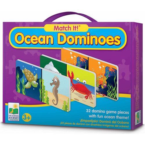 The Learning Journey Match It! Dominoes, Ocean