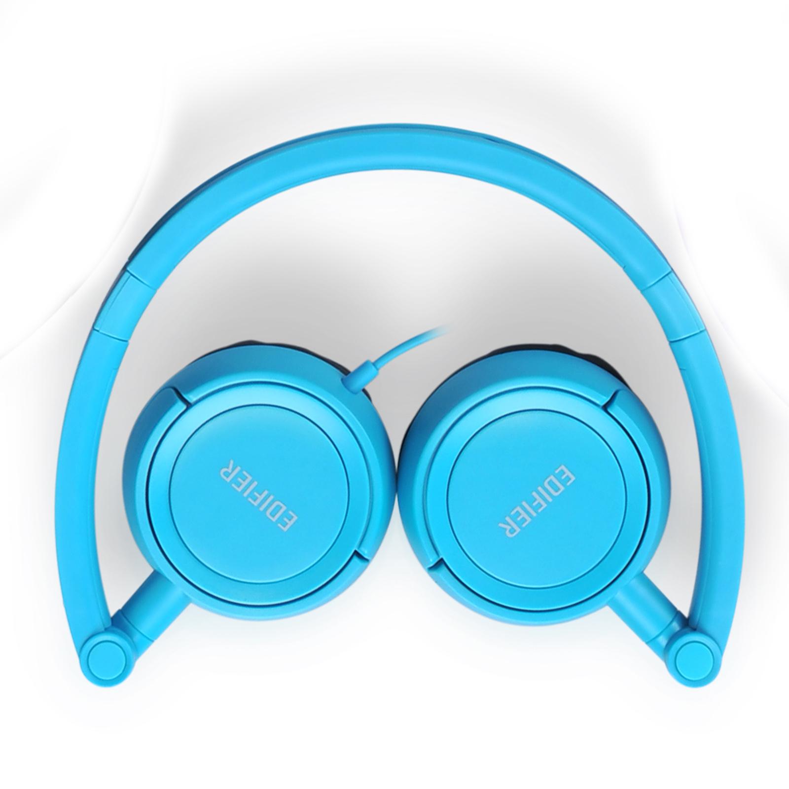 Edifier H650 Headphones - Hi-Fi On-Ear Foldable Noise-Isolating Stereo Headphone, Ultralight and Tri-fold Portable - Blue - image 5 of 7