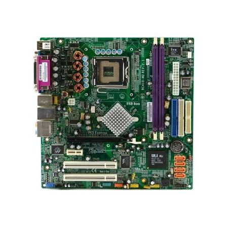 RC410-M2 Rev.2.1 ECS Intel LGA775 DDR2 Sata MICRO-ATX Desktop Motherboard NO I/O Intel LGA775 Motherboards