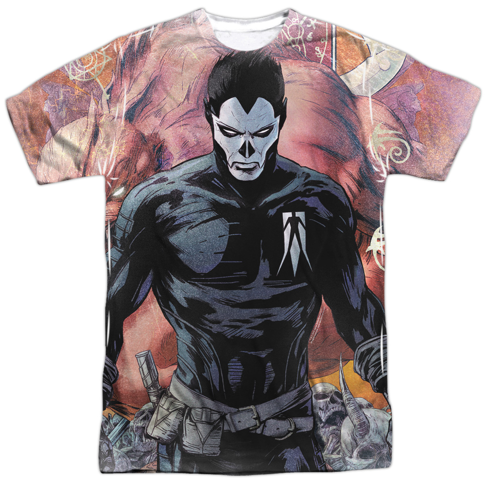 Shadowman Beast (Front Back Print) Mens Sublimation Shirt