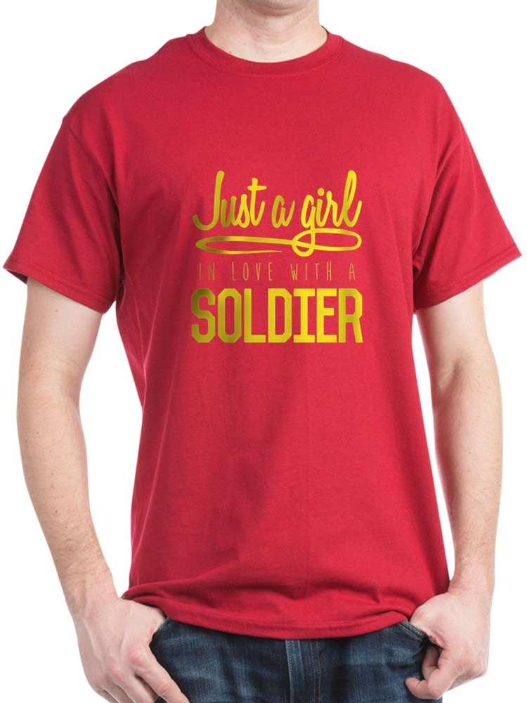 Girl In Love With A Soldier - 100% Cotton T-Shirt