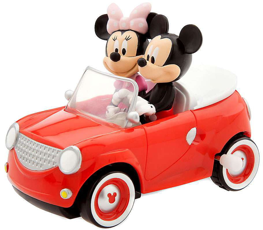 Disney Mickey Mouse Clubhouse Mickey & Minnie Car Wind Up Toy by