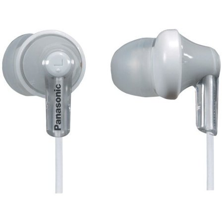Panasonic Earbud Headphones, Silver (HJE120S)