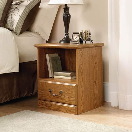 Sauder Orchard Hills Nightstand, Carolina Oak