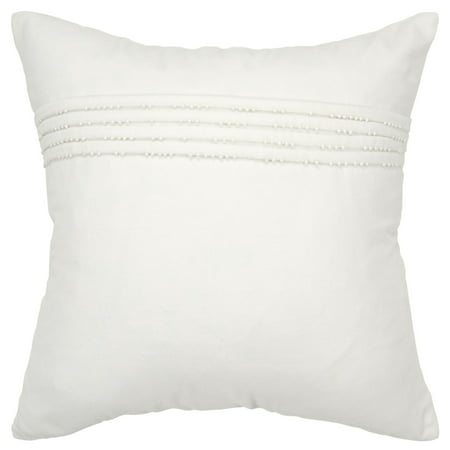 Poly Filled Accent Pillow (Rizzy Home Decorative Poly Filled Throw Pillow Solid 20