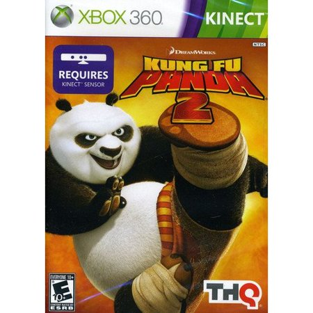 Kung Fu Panda 2 (Xbox 360/Kinect) (Xbox 360 With Kinect And Two Controllers)