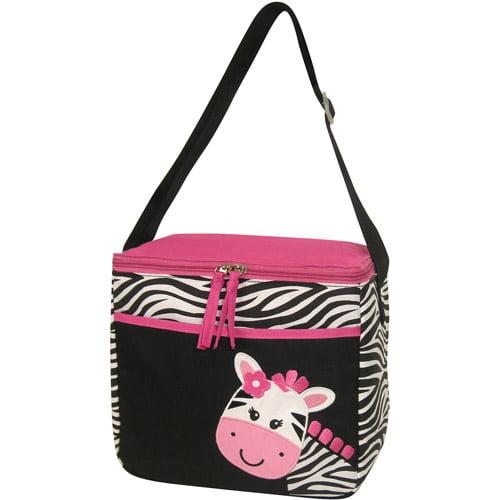 """Tender Kisses """"Smiley Zebra"""" Bottle Bag"""