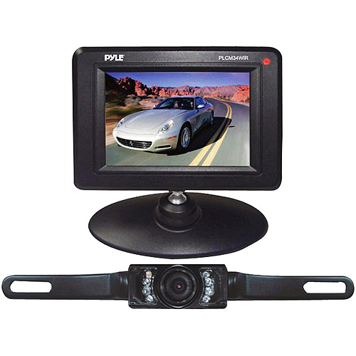 Pyle Wireless Backup/Rearview/Night Vision Camera System