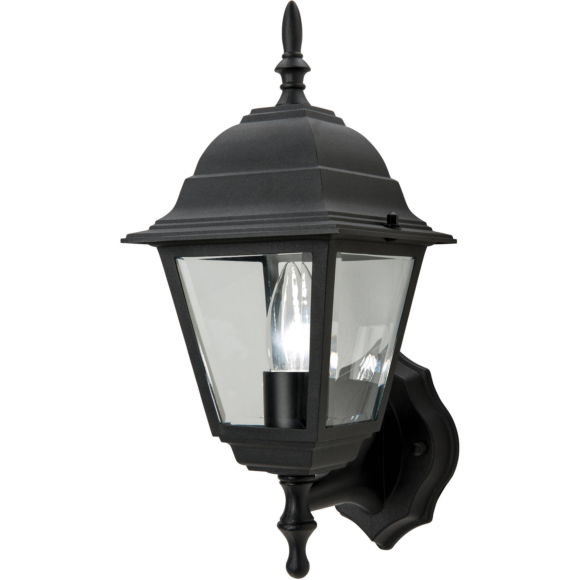 Chapter Outdoor Decorative Black Coach or Porch Light by Hampton Products Int'l Corp.