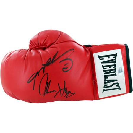 7a8ff6bc060 Steiner Sports Tommy Hearns and Sugar Ray Leonard Dual Signed Boxing Glove  - Walmart.com