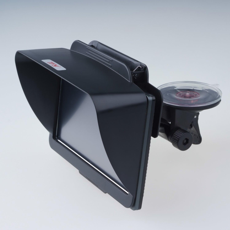 STOUCH 5 Inch GPS Navigator Sun Shade Clip Anti Reflectiv...