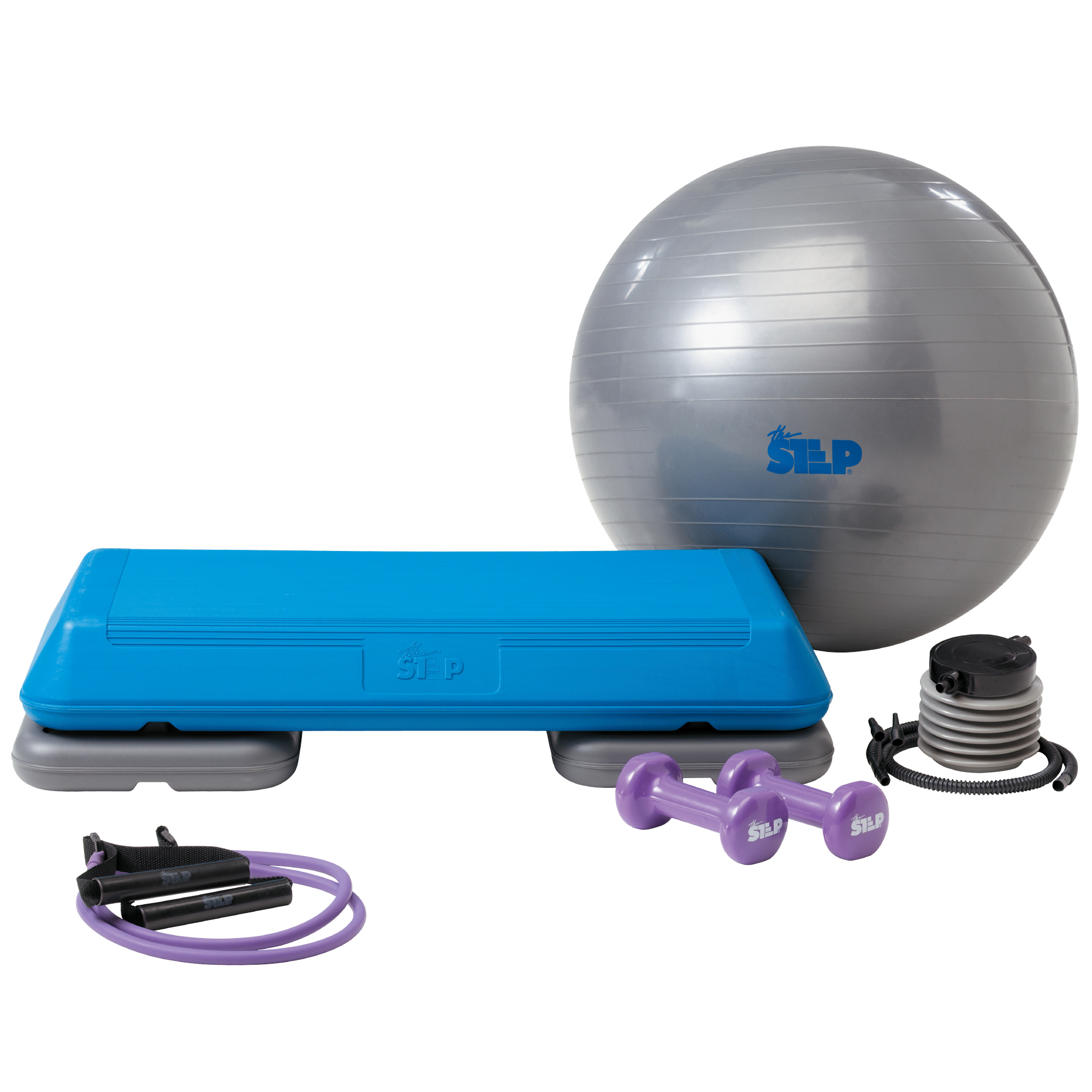 The Step Original Body Fusion Aerobic Platform and Accessories