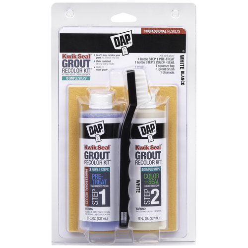 DAP Kwik Seal Grout Recolor Kit, White