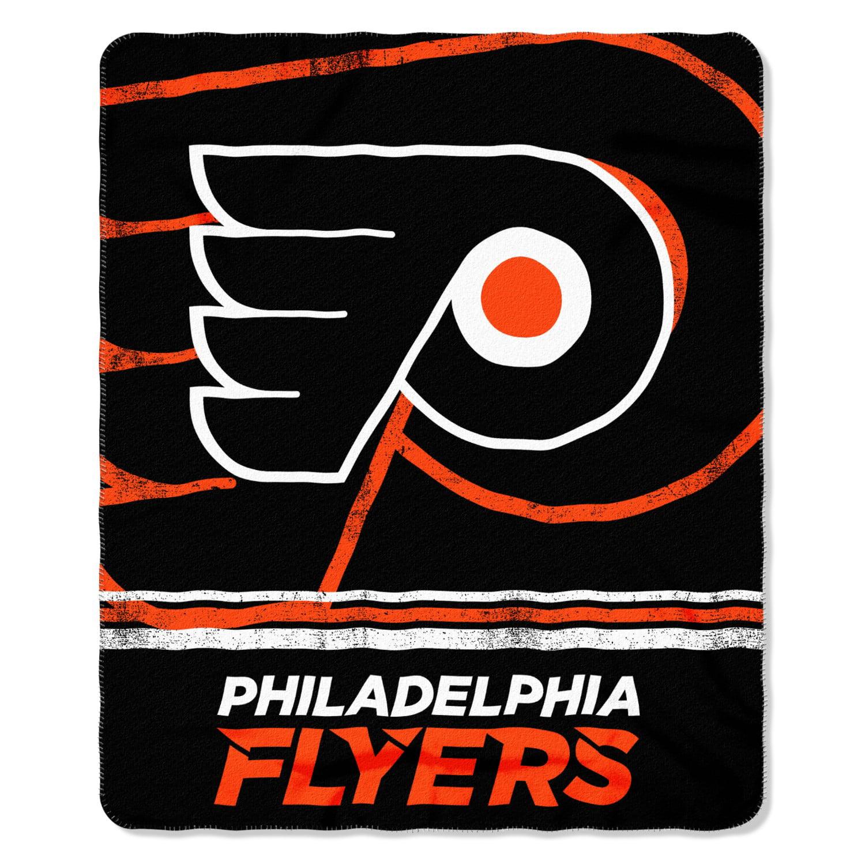 Philadelphia Flyers Fade Away Fleece Throw