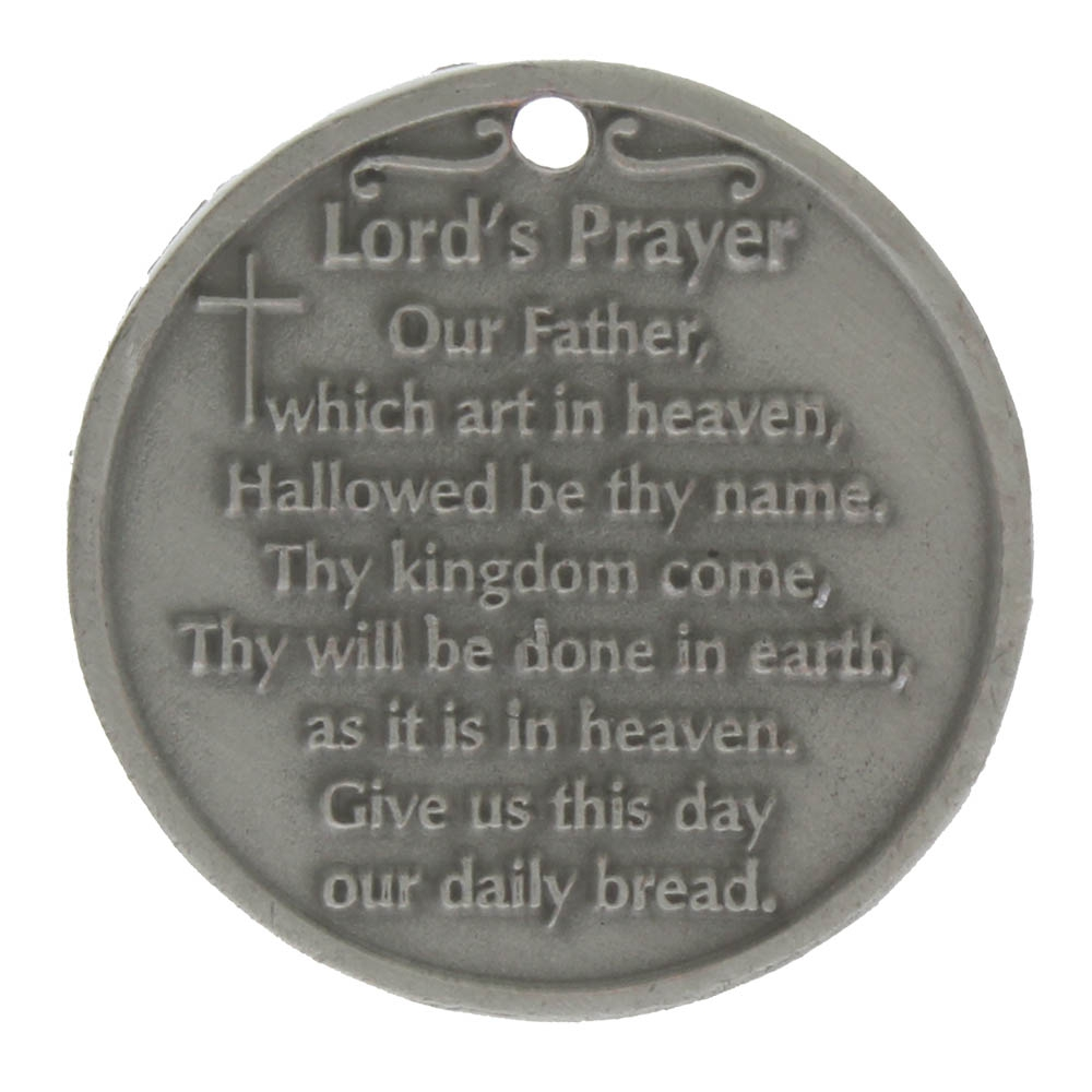 The Lord's Prayer Inspirational Pewter Coin (Pkg of 6)