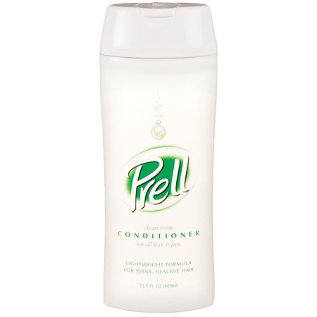 Prell Clean Rinse Conditioner for All Hair Types 13.5 Oz