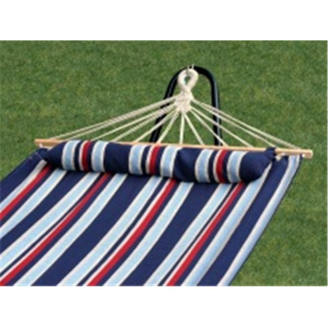 Bliss BH-404C Hammock with spreader bars Oversized with pillow- Patriot