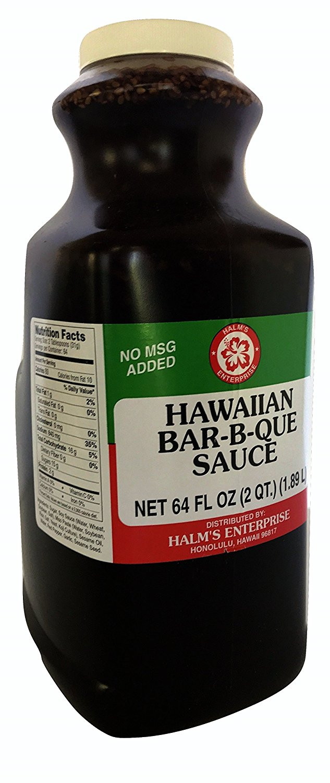 Halm's Hawaiian BBQ Bar B Que Sauce Hawaii   Walmart.com