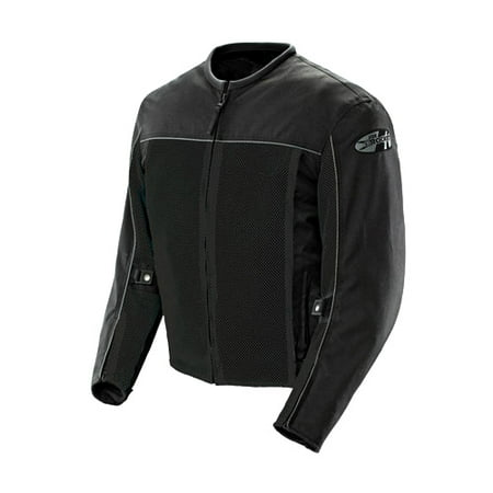 Joe Rocket Velocity Mens Black Mesh Motorcycle (Joe Rocket Riding Jackets)