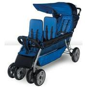 Foundations LX3 3-Passenger Stroller, Regatta Blue