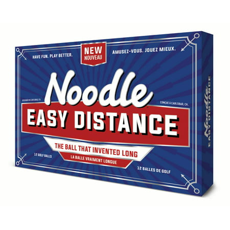 Noodle Easy Distance Golf Balls, 12 Pack