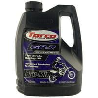 Torco T930077FE GP-7 2-Cycle Racing Oil - 1 Gallon Jug