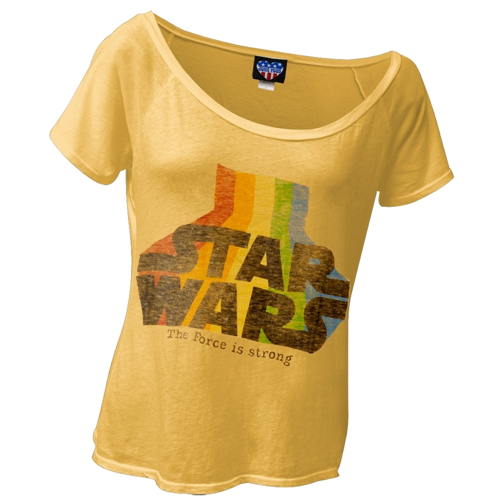 Star Wars - Force Is Strong Juniors T-Shirt