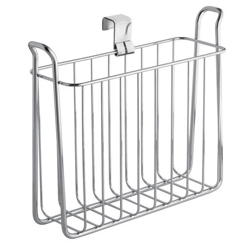Interdesign 68930 Chrome Classico Over The Tank Magazine Rack