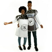 Hauntlook Salt and Pepper Couple Costume - Funny One-Size Unisex Food Costume for Adults