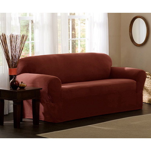 Maytex Reeves Stretch 1 Piece Loveseat Furniture Cover Slipcover