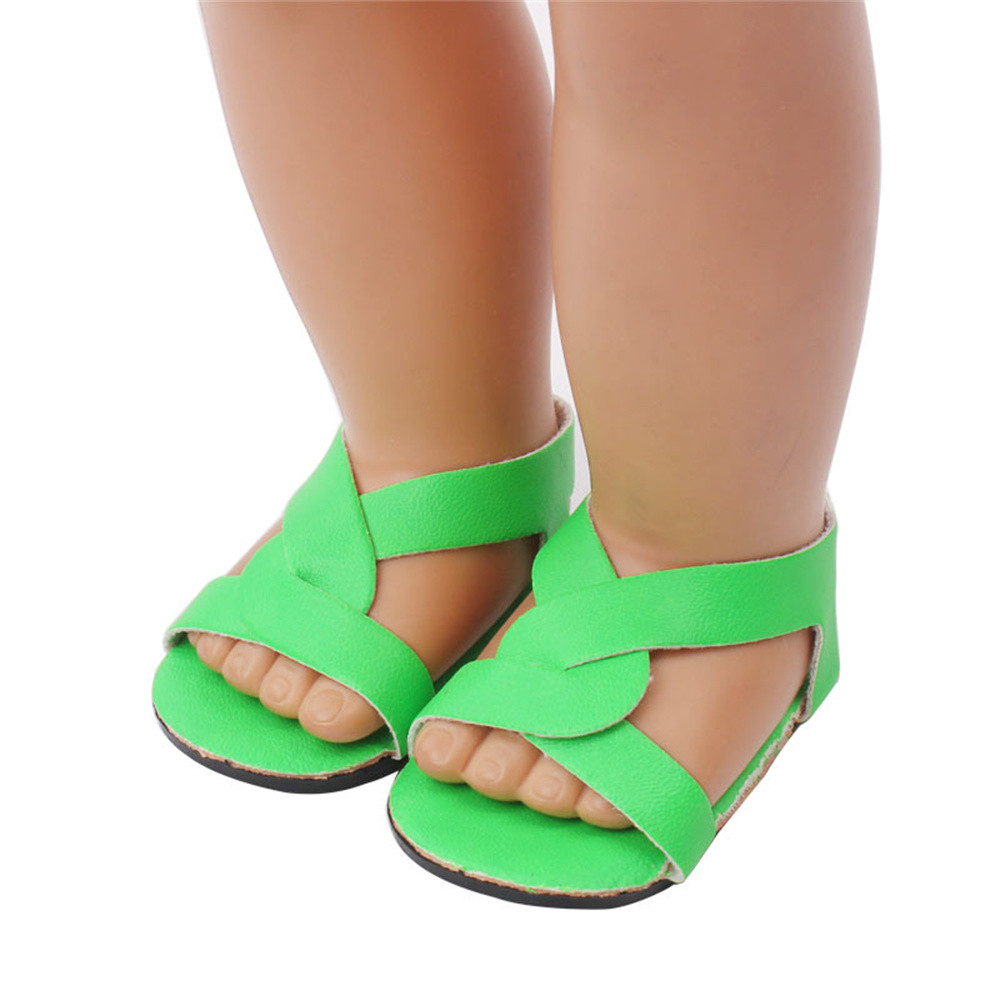 Doll Shoes Dress Sandals For 18 Inch Our Generation American Girl Doll