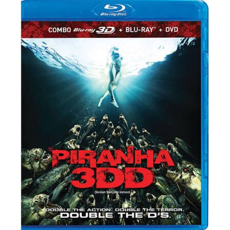 PIRANHA 3DD [BLU-RAY/DVD] [CANADIAN; 3D]