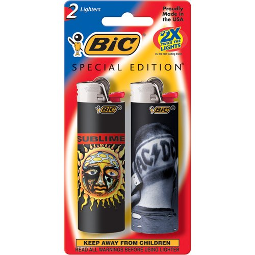 BIC 2-Pack Rock Band Lighters