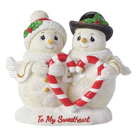 Precious Moments To My Sweetheart Snowman Resin Figurine 161414