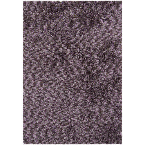 Chandra Rugs Vienna Shag Purple Area Rug