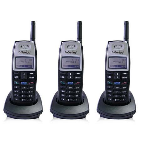 Engenius Cordless Telephone - Engenius FreeStyl 1 HC (3 Pack) Cordless Phone Handset